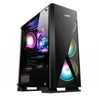 Vỏ Case SAMA Jazovo plus XII (Mid Tower/Màu Đen/Led RGB)