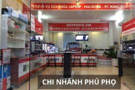 Sửa chữa laptop lấy ngay trong 1 Giờ Uy tín chất lượng tại Phú Thọ